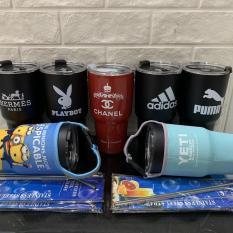 Ly Giữ Nhiệt YETI 900ml nhập khẩu Thailand ( kèm túi đựng, 2 ống hút INOX và cọ rửa )