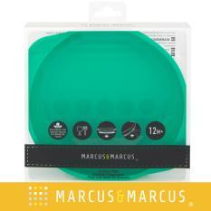 Đĩa ăn dặm silicon có đế hút chân không chống đổ Marcus & Marcus – Ollie