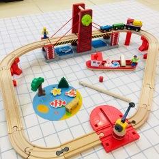 Bộ mô hình giao thông cầu cảng