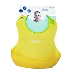 Yếm ăn dặm silicon có máng, chống rơi vãi, chống bám bẩn và dễ dàng điều chỉnh kích cỡ cho bé Royalcare TH601