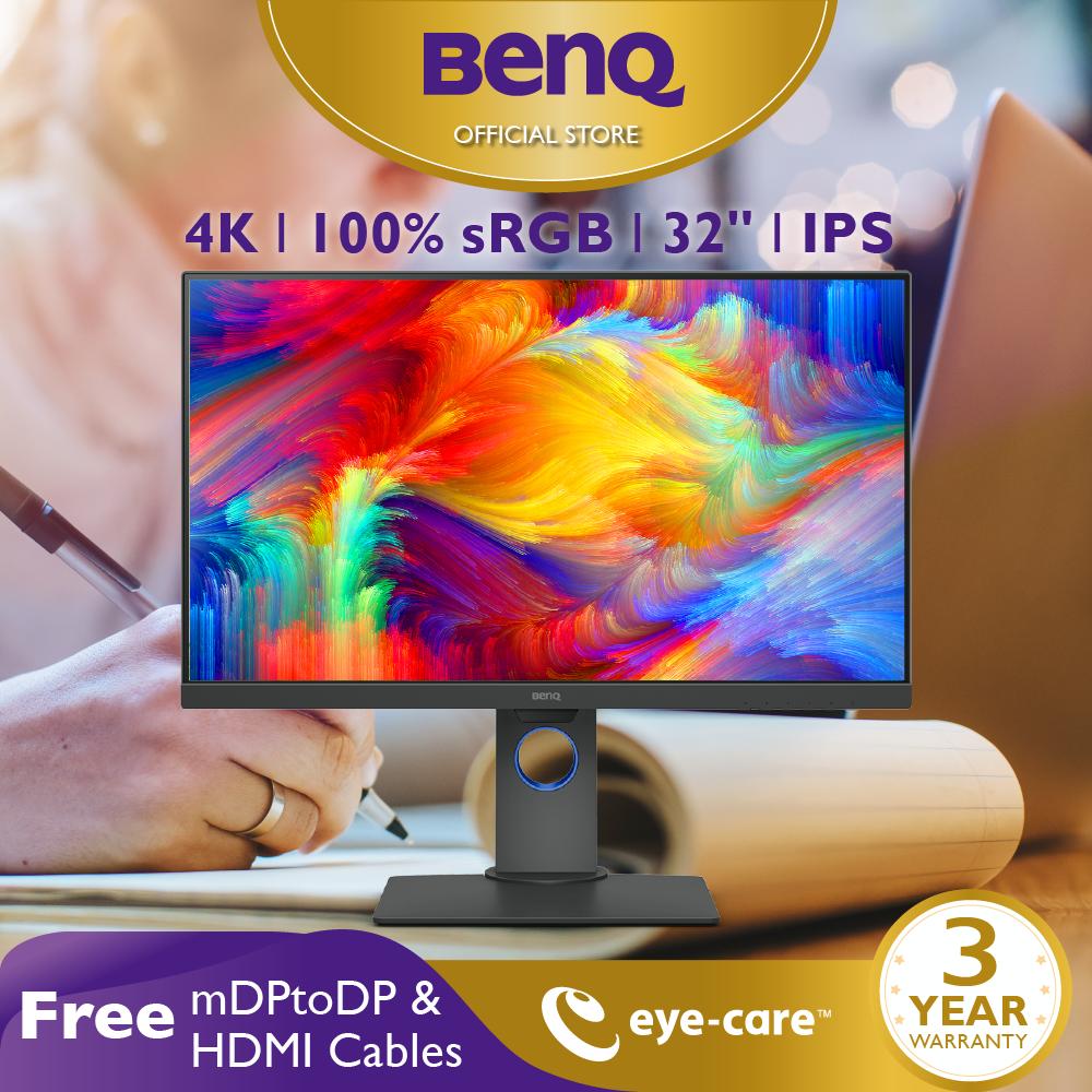 Màn hình máy tính BenQ PD3200U 32 inch 4K 100% sRGB chuyên Thiết kế đồ họa Xử lý hình ảnh cho Designer