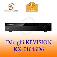 Đầu ghi camera HD 4 kênh (5in1) KBVISION KX-7104SD6 – Hãng phân phối