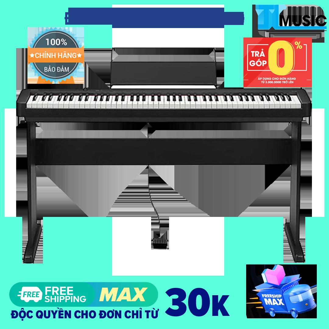 (Trả góp 0%) Đàn Piano Điện Tử 88 phím Casio CDPS100 – Digital Piano Casio CDP-S100 – Kết nối bluetooth