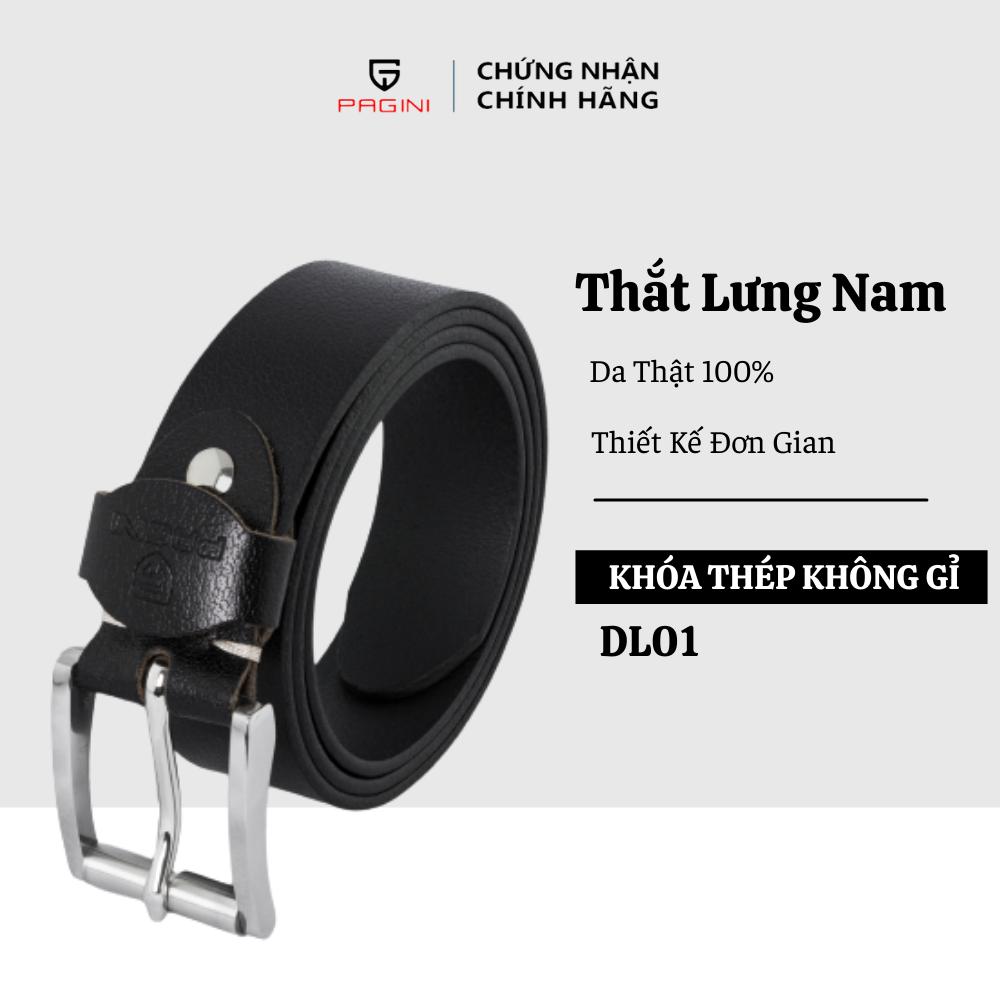 Thắt Lưng Nam Da Bò Thật 100% – Thiết Kế Trẻ Trung Năng Động – DL000001