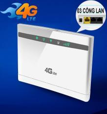 BỘ PHÁT WIFI TỪ SIM 4G LTE HUAWEI B525 – 03 cổng LAN , băng thông 300MBps , 2 Anten độ lợi 8 dBi