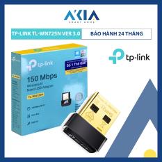 Bộ Thu Sóng Wifi Bằng USB TL-WN725N Chuẩn N Tốc Độ 150Mbps – Hàng Chính Hãng