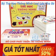 Bộ Thẻ Học Thông Minh loại Lớn 18 Chủ Đề Song Ngữ tiếng Anh chuẩn Glenn Doman Flashcard cho Bé từ 0-6 Tuổi – Đồ Chơi House & PetShop