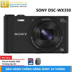 Máy chụp hình KTS Sony DSC-WX350 (ĐEN) -Hàng chính hãng- Bảo hành 2 năm