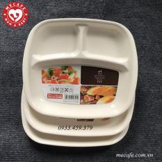 Khay ăn dặm 3 ngăn thương hiệu Nakaya Nhật Bản