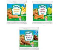Bánh Ăn Dặm Heinz Nhiều Vị 7+Táo – Chuối -Socola 2021