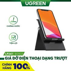 [Nhập ELMAY21 giảm thêm 10% đơn từ 99k] Giá đỡ điện thoại dạng trượt có thể điều chỉnh nâng khung đỡ nhỏ gọn UGREEN LP247