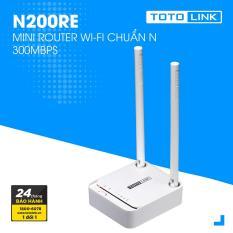 Router WiFi 300Mbps TOTOLINK N200RE-v3(Trắng) – Hãng phân phối chính thức