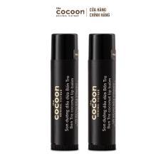 Combo 2 thỏi Son dưỡng dầu dừa Bến Tre Cocoon 5g/thỏi