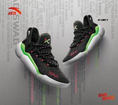 Giày bóng rổ nam Anta KT5 low 812021608