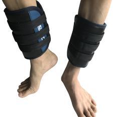 Chì tạ dán đeo chân tập luyện thể lực đeo giảm cân phục hồi chức năng trọng lượng 4kg/cặp