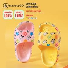 Dép Cho Bé BabyloveGo BD2121B-2 Đế Eva Siêu Mềm Nhẹ Chống Trơn Trượt Cho Bé Chính Hãng