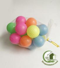 Túi bóng nhựa đồ chơi 10 quả nhỏ ( đường kính 5,5cm )