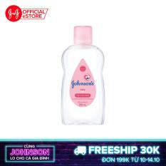 Dầu mát xa dưỡng ẩm Johnson's baby oil pink 200ml – 100980003