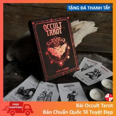 Bài Tarot The Occult 78 Lá Bài Tặng File Tiếng Anh Và Đá Thanh Tẩy
