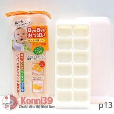 Khay trữ thức ăn cho bé 12 ngăn Kokubo, có nắp đậy, dùng để trữ thức