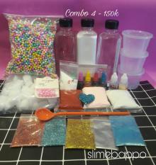 Combo nguyên liệu slime 4