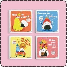 Full bộ sách Giri – Chú bé cơm nắm p1 – Ehon Nhật Bản cho trẻ mầm non