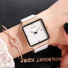 Đồng hồ nữ thời trang dây da GUOU GU819 phong cách trẻ trung, cá tính, năng động