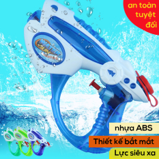 Đồ chơi sung bắn nước thiết kế đặc sắc, siêu xa siêu hấp dẫn