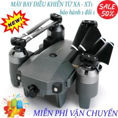Flycam, Flycam điều khiển Giá Rẻ Flycam XT-1 Động cơ mạnh mẽ camera, Flycam XT1 Wifi 720P Camera Thiết Kế Cánh Gập Phiên Bản 2020- Sản Phẩm Giá Tốt, Chất Lượng Vượt Trội
