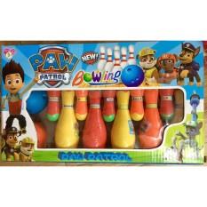 Đồ chơi Bowling Paw Patrol vui nhộn giúp bé nhận biết được màu sắc, phát triển thị giác, rèn luyện tay chân cho bé, an toàn cho bé