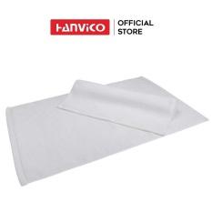Thảm chân HANVICO màu trắng 45×80