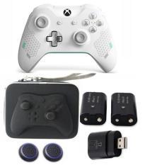 Tay cầm chơi game Xbox One S Wireless + Pin Sạc + Tặng bọc Silicon + Thum Grips