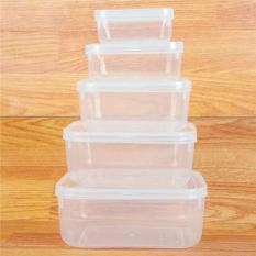 Combo 5 hộp nhựa đựng thực phẩm 2288
