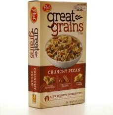Ngũ cốc ăn sáng Post Great Grains Crunchy Pecan hộp 453g