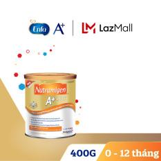[Dành cho trẻ dị ứng đạm sữa bò] Sữa bột Nutramigen 400g – Cam kết hạn sử dụng còn ít nhất 10 tháng
