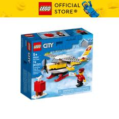 LEGO CITY 60250 Máy Bay Đưa Thư ( 74 Chi tiết)