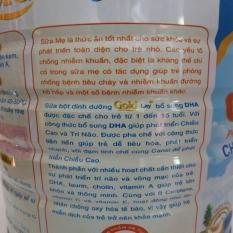Sữa Goldlay Grow phát triển chiều cao trí não lon 900g cho trẻ 1-15 tuổi