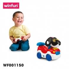 Đồ chơi ô tô điều kiển từ xa hình chú con Puppy vui nhộn lúc lắc cái đầu có nhạc Winfun – 1150 cho bé từ 2 tới 6 tuổi