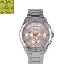Đồng hồ nam dây thép không gỉ Casio Anh Khuê MTP-1374D-9AVDF