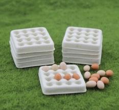 [HCM]Mô hình khay trứng phụ kiện trang trí nhà búp bê [1 cái ]