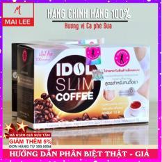 Cà phê Idol Slim Coffee (Hộp 10 gói nhỏ x 15g) – Thái Lan by PK Nature Cải thiện vóc dáng với Cafe giảm cân IdolSlim / Like Slim – Mai Lee