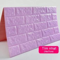 Sale Giá Gốc Xốp Dán Tường 3D Giả Gạch / Chịu lực, chống nước, chống ẩm mốc / 70x77cm Tranh Treo Tường SuperDecor