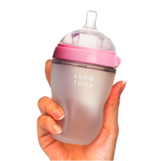 Bình sữa cho bé Comotomo 250ml chính hãng – Chất liệu silicon y tế – Minso kids