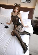 Tất ngủ toàn thân 2 dây ren lưới cosplay sexy BD013, Đồ ngủ cosplay gợi cảm, Bộ ngủ ren lưới sexy, Freesize