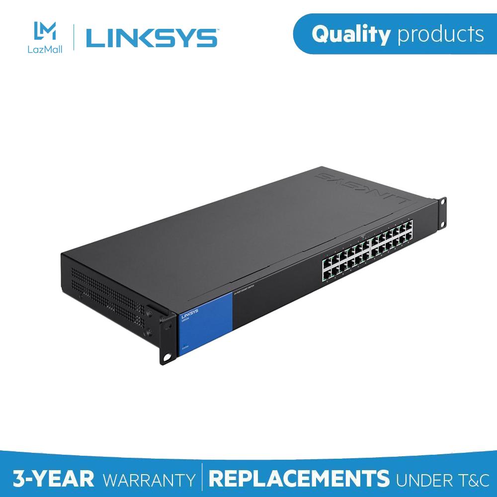 [Trả góp 0%]Switch LINKSYS LGS124 24-Port Business Gigabit – Hãng Phân Phối Chính Thức