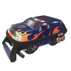 Ba lô oto 3D cho bé Family shop FS02 (Xanh)