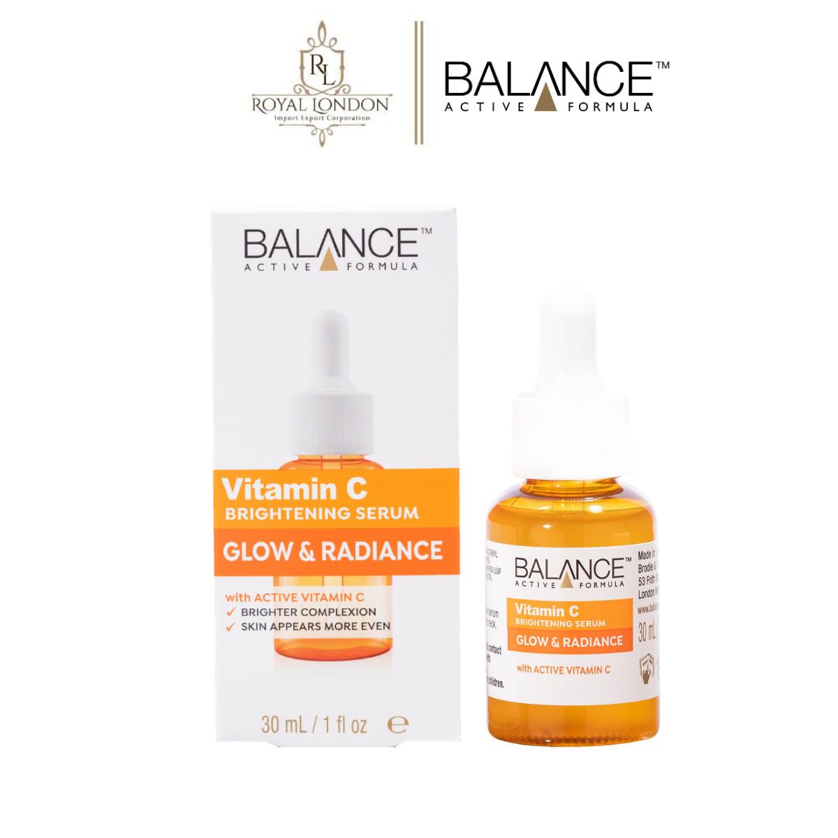 Serum Trắng Da Mờ Thâm Balance Active Formula Vitamin C Brightening 30Ml