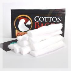 Bông Mỹ Thay Thế Dành Cho Thuốc Lá Điện Tử Cotton Bacon By Wick N Vape (Đen) – Hàng Nhập Khẩu