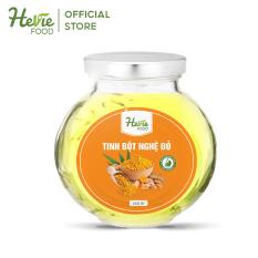 Tinh bột Nghệ đỏ 220g hỗ trợ tăng cường sức khỏe và hệ tiêu hóa HeVieFood Advanced by JULYHOUSE
