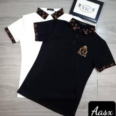 [có video] Áo thun nam cao cấp phối logo cực đẹp chuẩn thời trang hàng shop